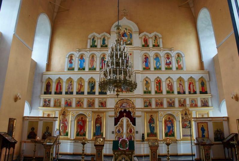 Главный престол Свято-Троицкого собора Каменск-Уральский